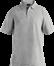 Grå melange Polo Shirt m. brystlomme, herre, Prowear (825028100)
