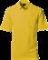 Gul Polo Shirt m. brystlomme, herre, Prowear (825028100)