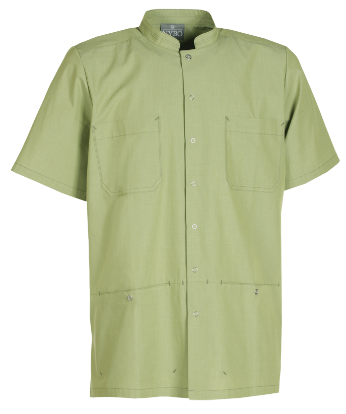 Unisex shirt in sustainable fabric, Nature (536018920), Stock programme