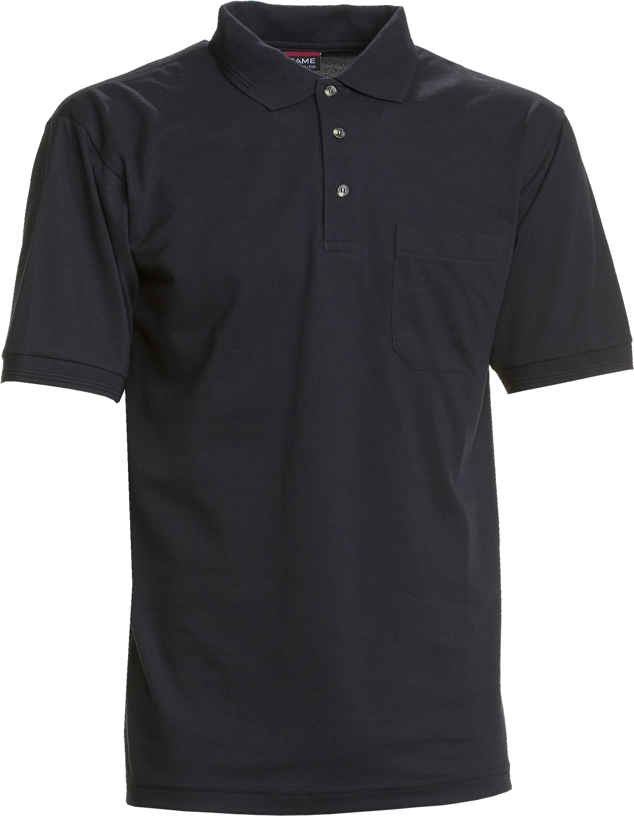 Mens Polo Shirt w. breastpocket, Basic (825012100) - NOOS
