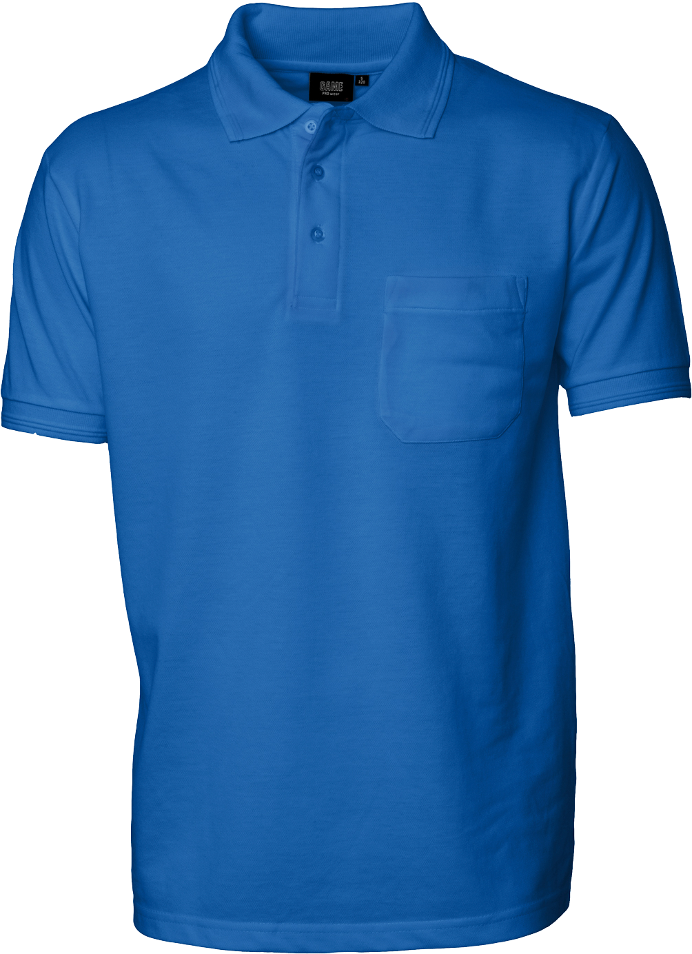 Mens Polo Shirt w. breastpocket, Prowear (825028100)