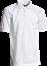 Hvid  Herre Polo Shirt m. brystlomme, Basic (825012100)