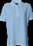 Lyseblå Polo Shirt u. brystlomme, dame, Prowear (725009100)