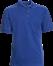 Blå  Herre Polo Shirt m. brystlomme, Basic (825012100)