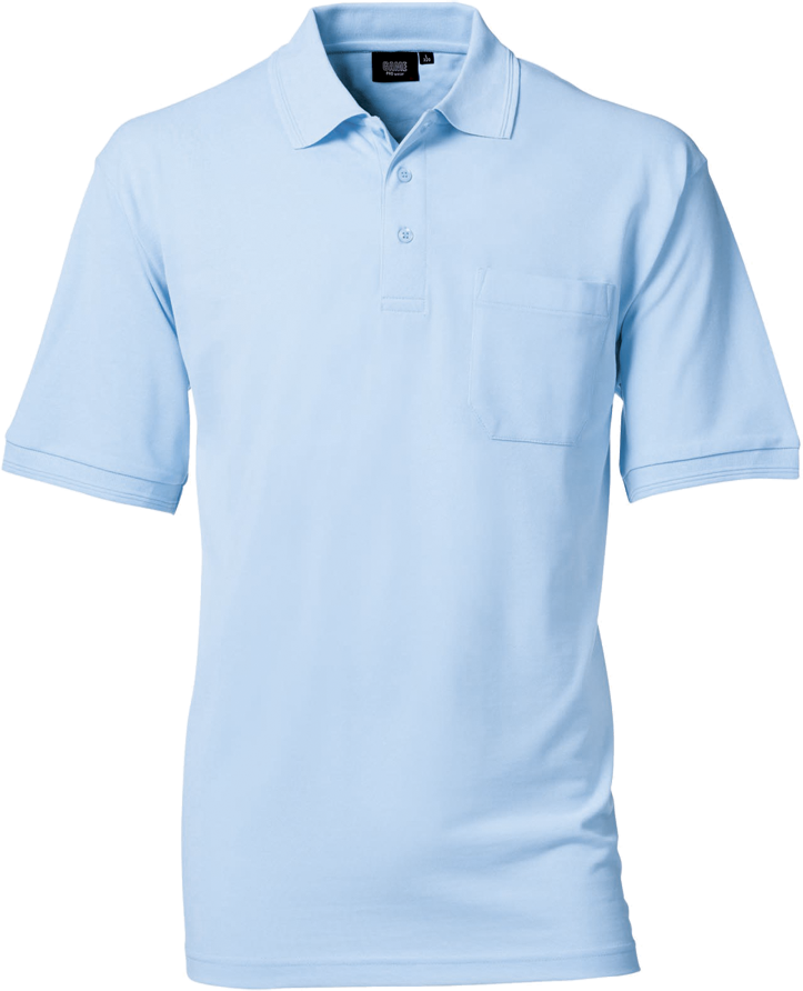 Mens Polo Shirt w. breastpocket, Prowear (825028100) - Stock programme